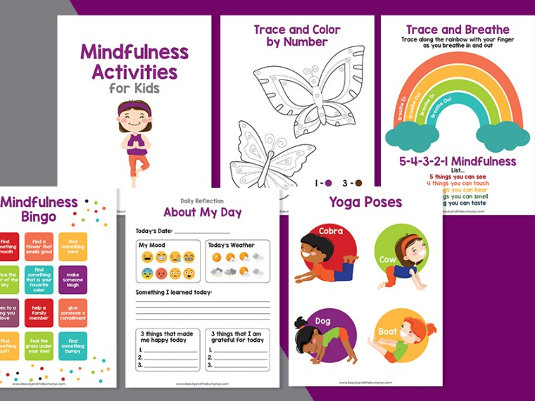 I'm sharing 5 Mindfulness Activities for Kids. Now, more than ever is the time to teach them how to manage stress and emotions.
