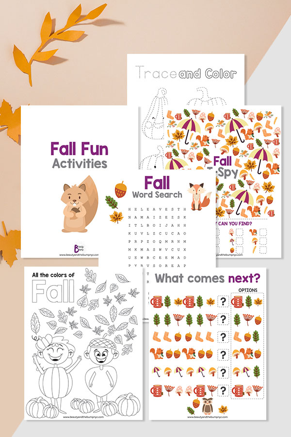 Too cold or wet outside? These fall activities for kids are a great way to entertain your kids and teach them about this very unique season.