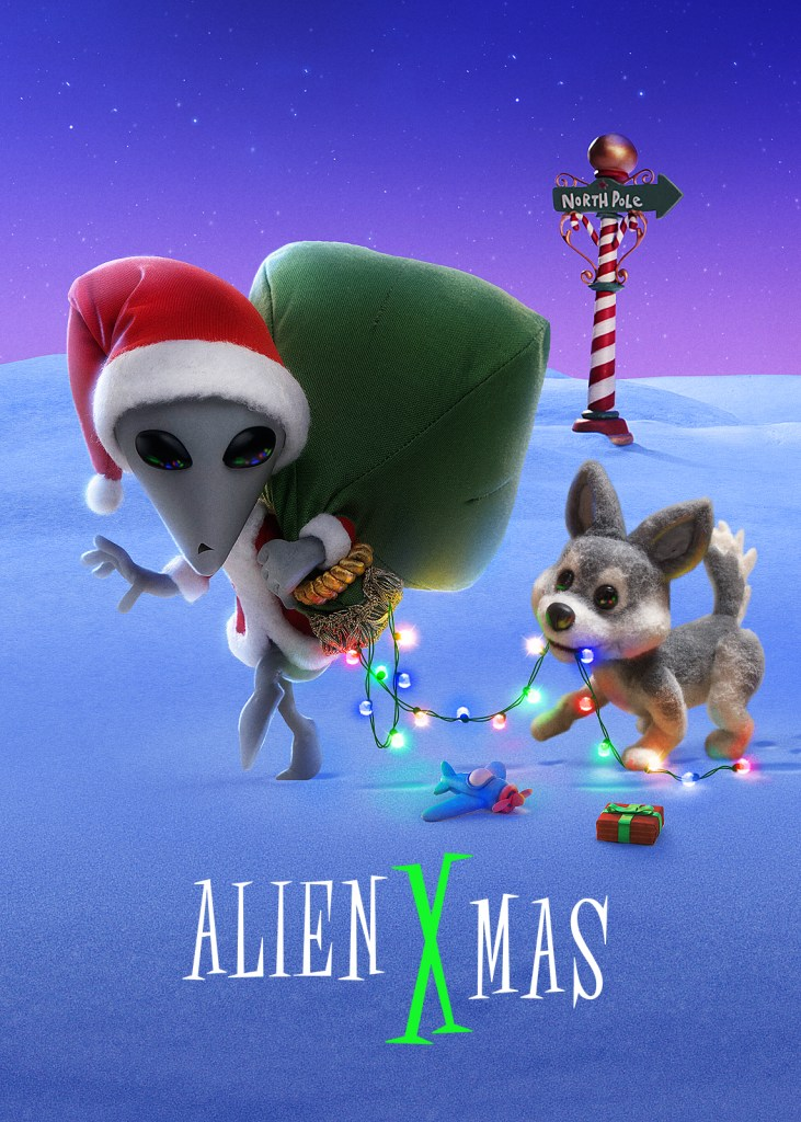 Alien X on Netflix I'm sharing some new holiday movies to watch on Netflix as well as a few old favorites. Grab a cup of hot chocolate (or hot toddy for the adults) and get cozy to watch these holiday movies on Netflix.