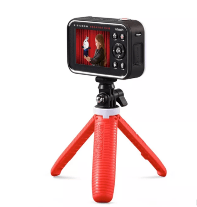Vtech Kidizoom Creator CAm is a great gift for traveler kids to document their adventures.