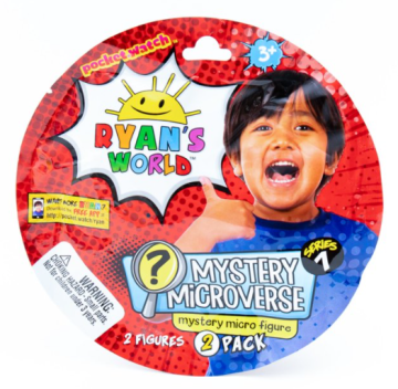Ryan's World Micro figures