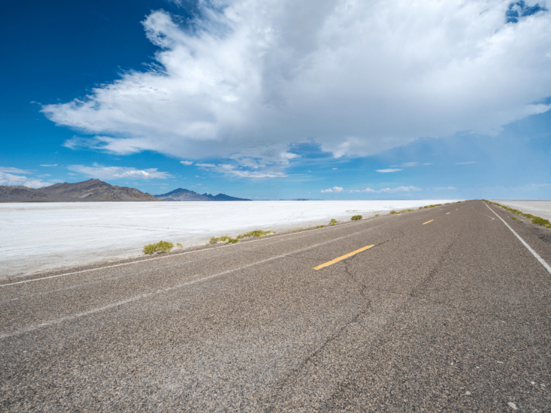 If you want to know where the fastest racetrack on earth is located, look no further than the Bonneville Salt Flats. Men and women come to the flats from all over the world in an attempt to break the land speed record in different vehicle categories, and the speed limit on the raceway is a breezy 1,000 mph.