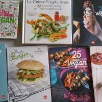 Quelques livres de recettes