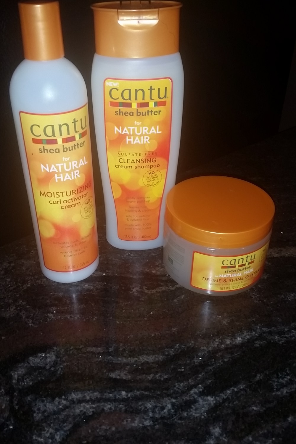 Cantu Shea Butter Product Review
