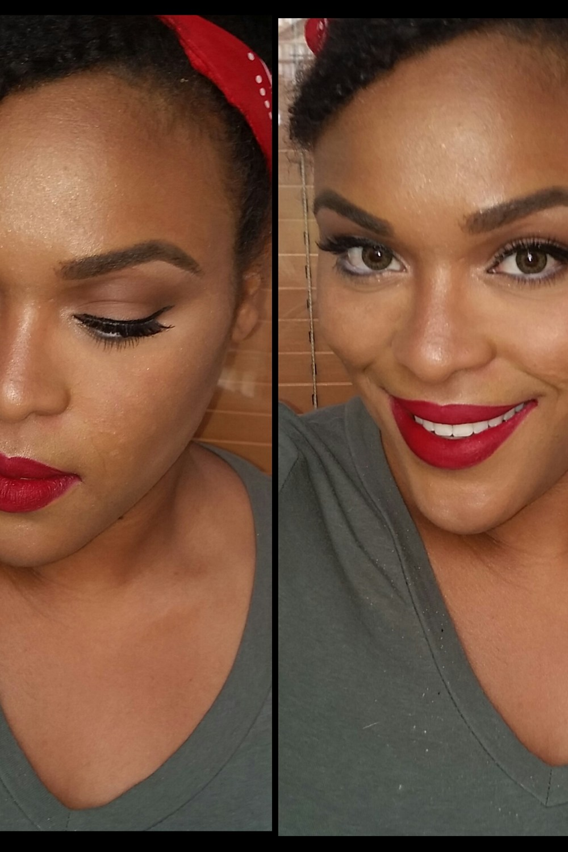 GRWM: Vintage/Pinup Inspired Makeup