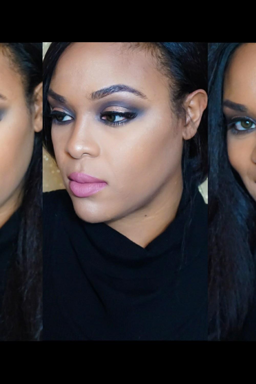 Halo Inspired Eye Makeup – Gold Smokey Eye