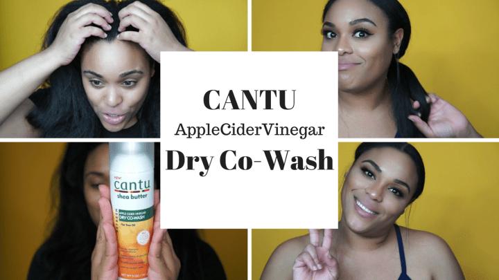Cantu Apple Cider Vinegar Dry Co-Wash