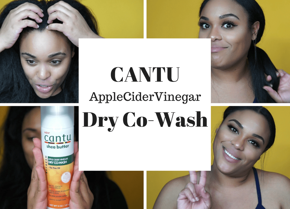 Cantu Apple Cider Vinegar Dry Co-Wash