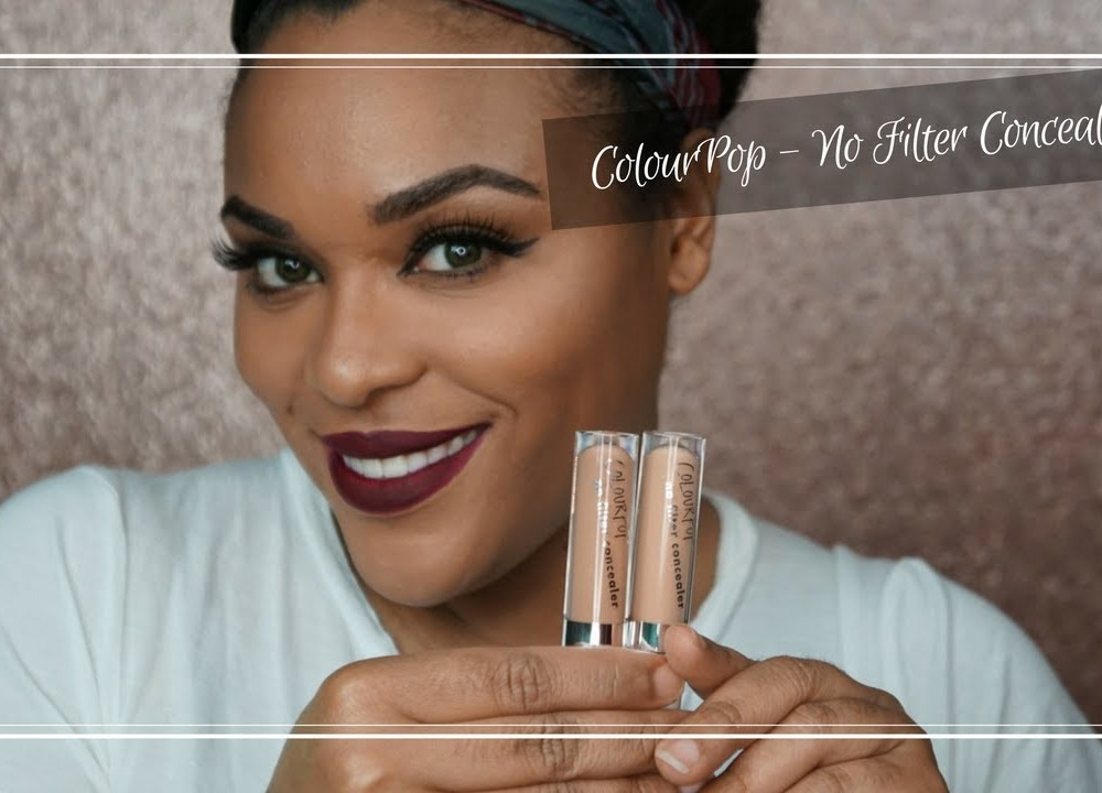 ColourPop No Filter Concealer| Buy or Bye?!??!!