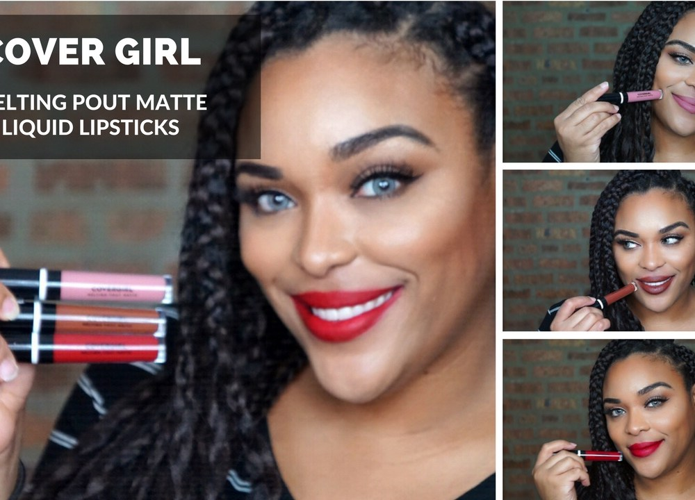 Covergirl Melting Pout Matte Liquid Lipsticks| Review and Swatches