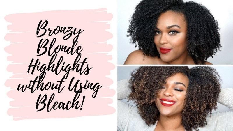 How To Highlight Hair At Home Archives Beautyandthekinks
