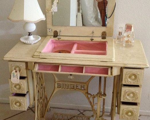 Diy Vanity Table Ideas From Pinterest Beauty And The Mist
