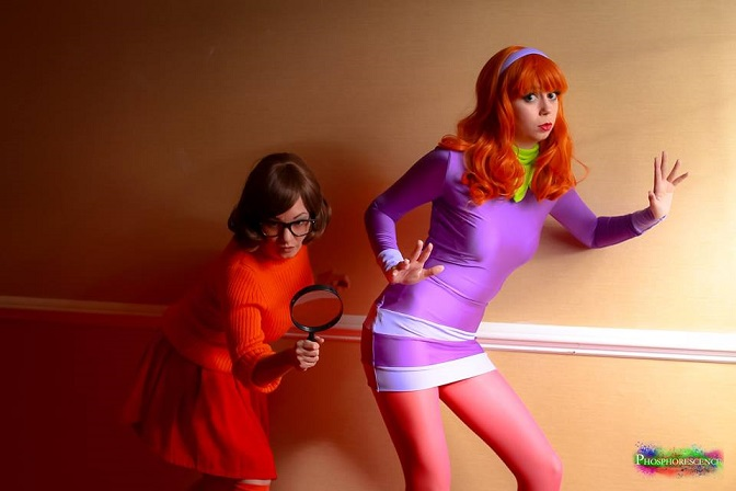 DIY: Daphne and Vilma from Scooby Doo Halloween Costume