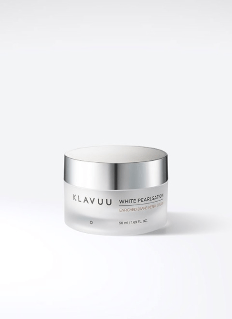 Klavuu's White Pearlsation Divine Pearl Cream: Made with real pearls to get glowing skin