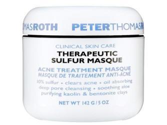 Sulfur treatment for a massive pimple