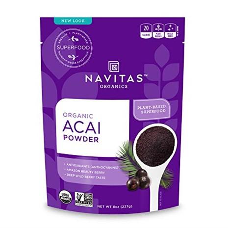 Navitas Organics powder for Acai mask