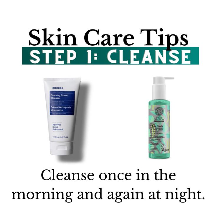 Skin Care routine: step 1
