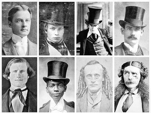 mens hairstyles victorian era