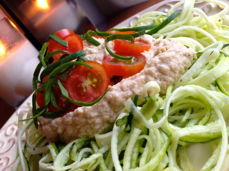 Vegan Fettuccine Alfredo by BeautyBeyondBones #food #glutenfree #vegan #paleo #vegetarian #pasta #edrecovery #healthyfood