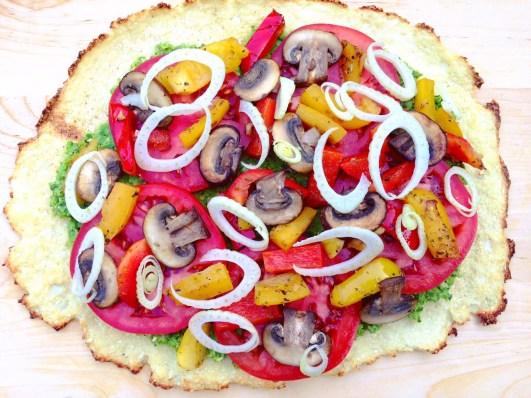 BeautyBeyondBones Fennel and Pesto Pizza! #glutenfree #grainfree #vegan #paleo #scd #edrecovery #food
