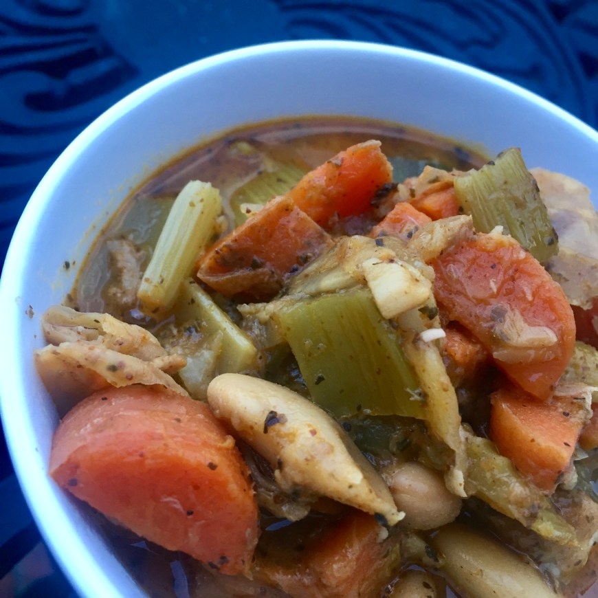 Hearty Vegetable Soup by BeautyBeyondBones #vegetarian #vegan #soup #glutenfree #dinner #food #edrecovery