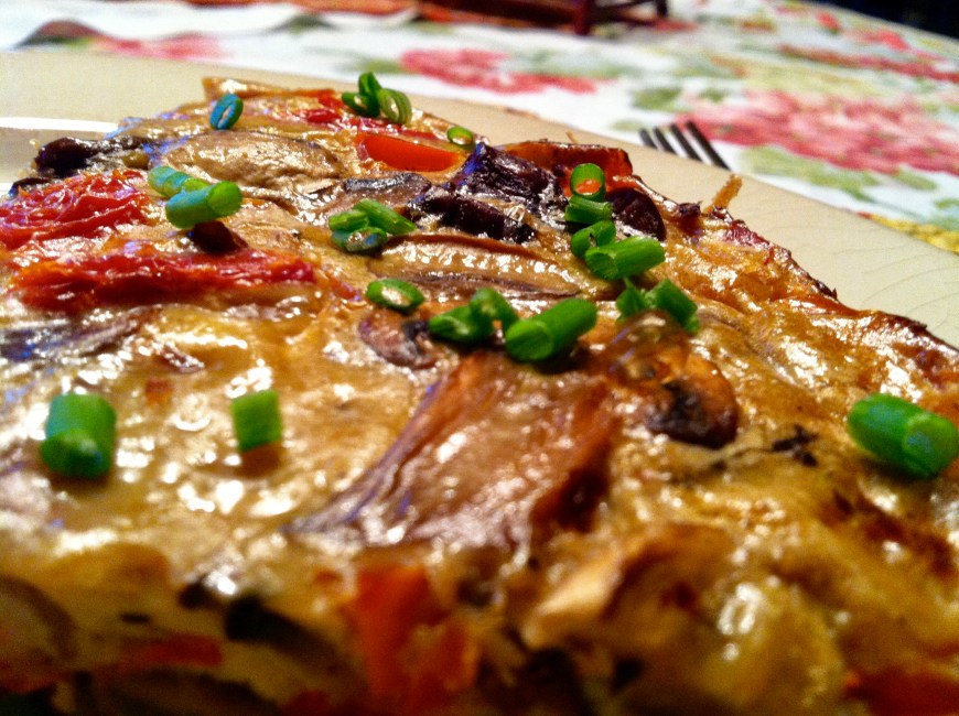 Rosso Frittata by BeautyBeyondBones #glutenfree #paleo #food #breakfast #edrecovery