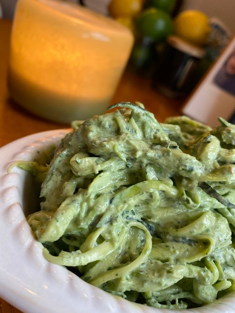Cheesy Pesto Pasta by BeautyBeyondBones #healthyfood #vegetarian #glutenfree #food #edrecovery #yum