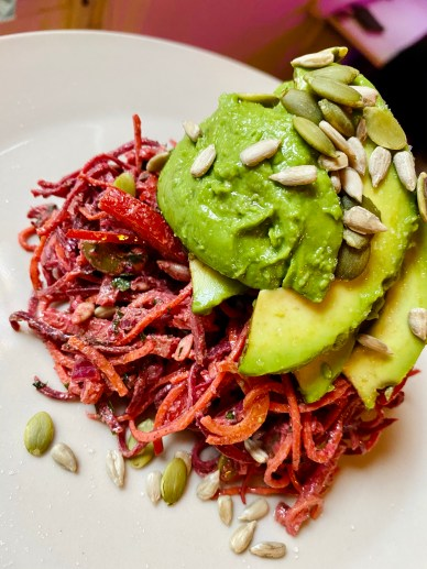 BBQ with Rainbow Salad! by BeautyBeyondBones #glutenfree #grainfree #vegan #paleo #vegetarian #plantbased #healthyfood #food #dinner #edrecovery #yum