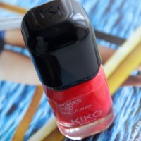 Kiko Pro Power Nail Lacquer - Hibiscus Red | Review