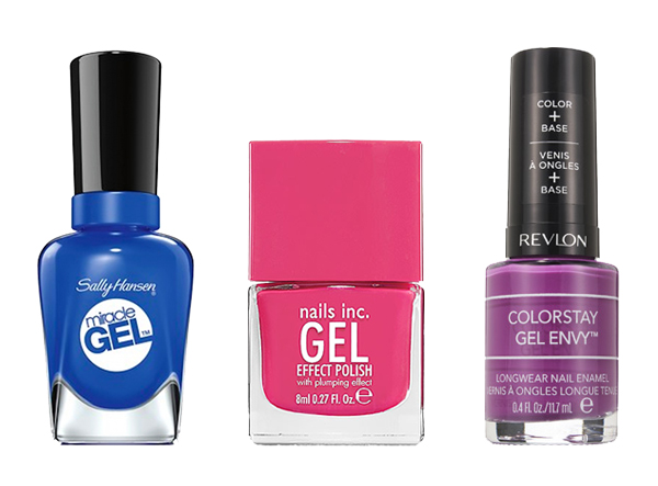 How To Do Gel Nails At Home A Sally Hansen Salon Polish Starter Kit