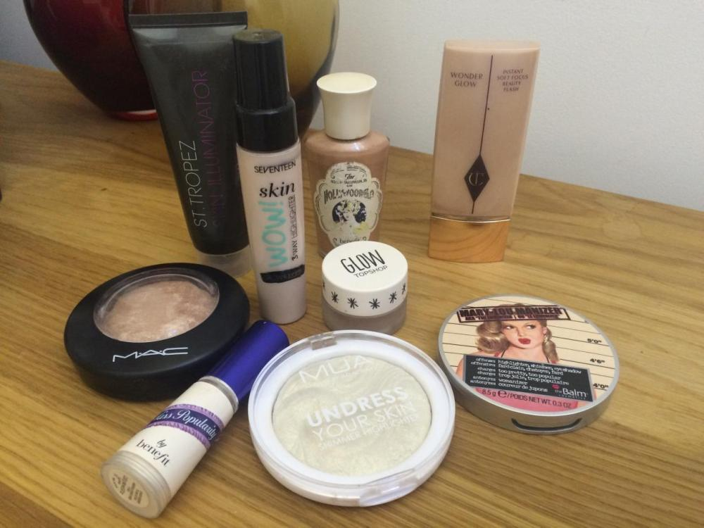 powder-highlighter-products-Undress-your-skin-soft-and-gentle-maryloumaniser-s-liquid-highlighters-charlotte-tilbury-wonderglow-seventeen-skin-wow-topshop-glow