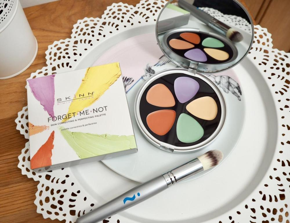 Skinn Forget Me Not Perfecting and Correcting Palette