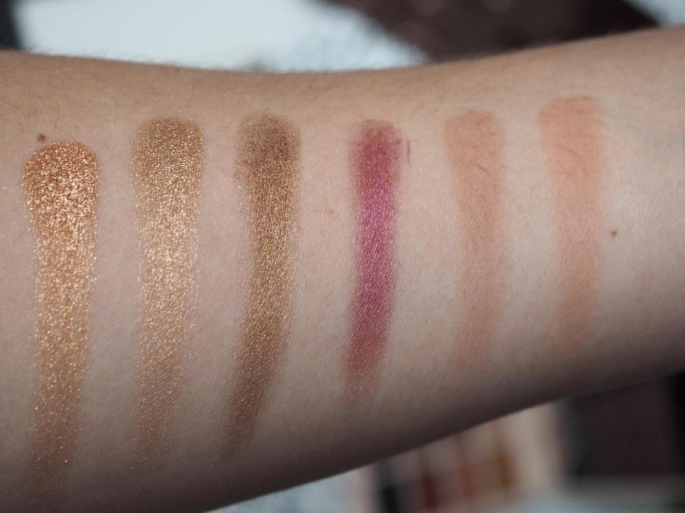 Makeup Revolution Soph X Eyeshadow Palette Swatches Second Row