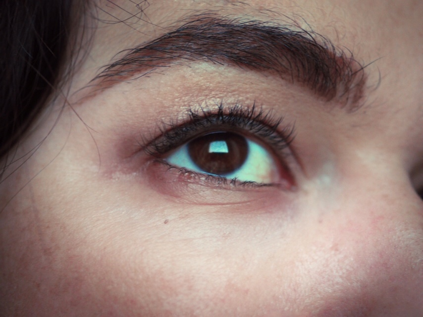 Benefit Bad Gal Bang Mascara Review- Before Pic