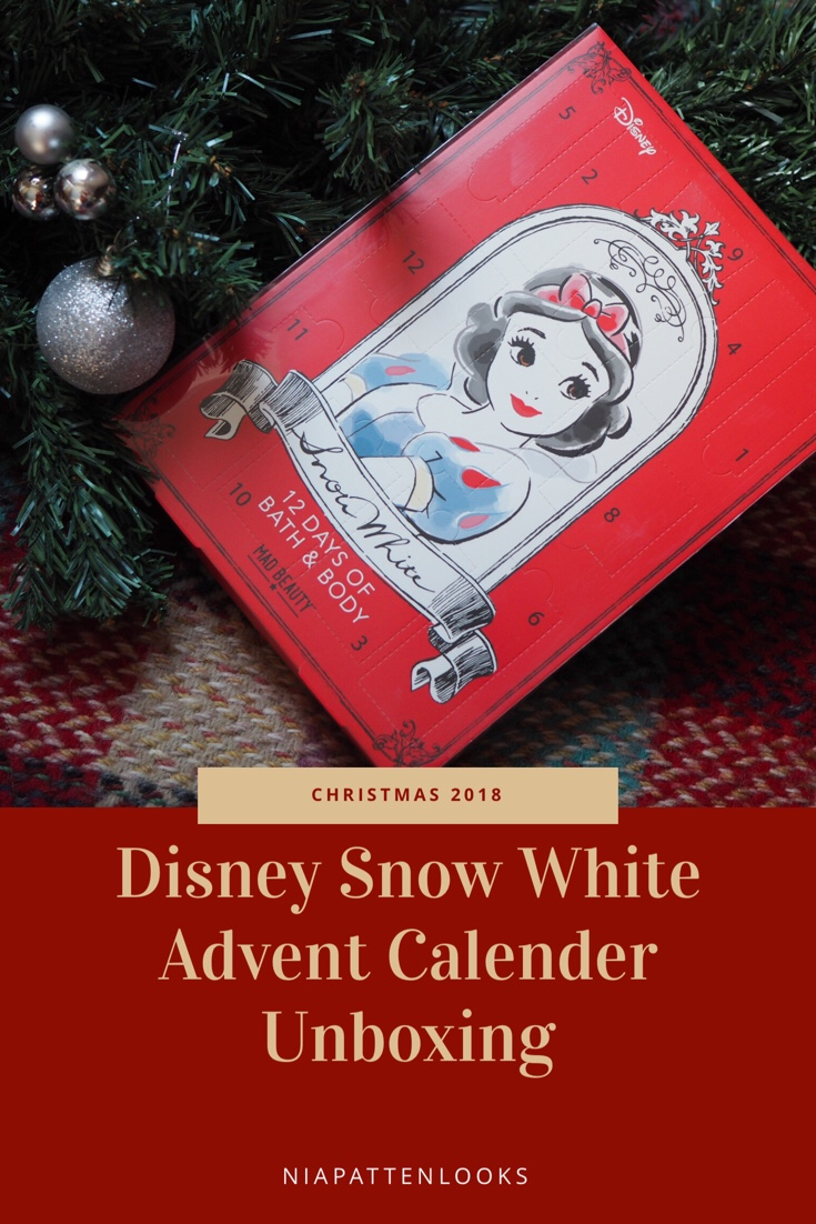 superdrug disney snow white 12 days advent calendar. Black Bedroom Furniture Sets. Home Design Ideas