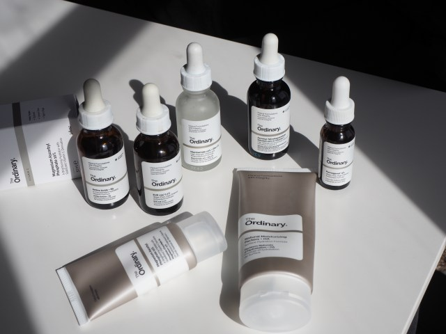 The usual treatment regimens for droppers and tubes for sensitive skin