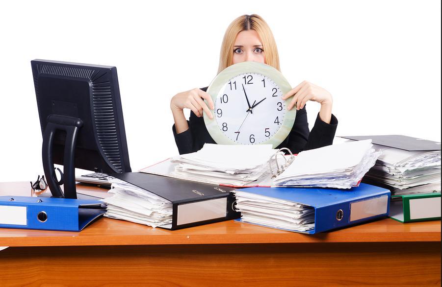 忙しい 多忙 仕事 女性