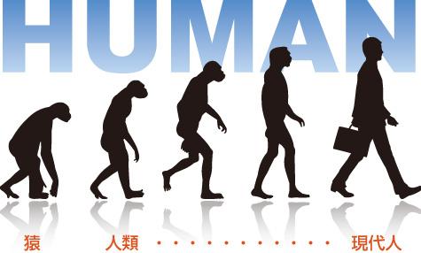 人間 進化の過程