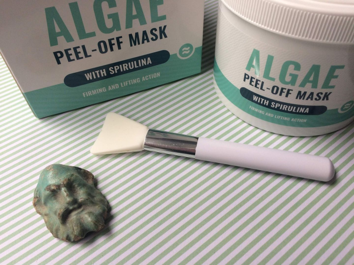 Algae Peel Off Mask with Spirulina by Ultrasonic Beauty