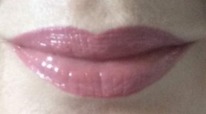 lips lined with SSL lip liner and filled with Lip Intense Plumper
