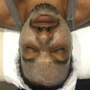 facial man