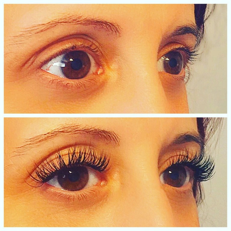 Lash Extension Before & After2