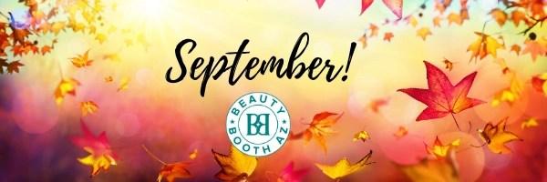 Fall leaves September newsletter header