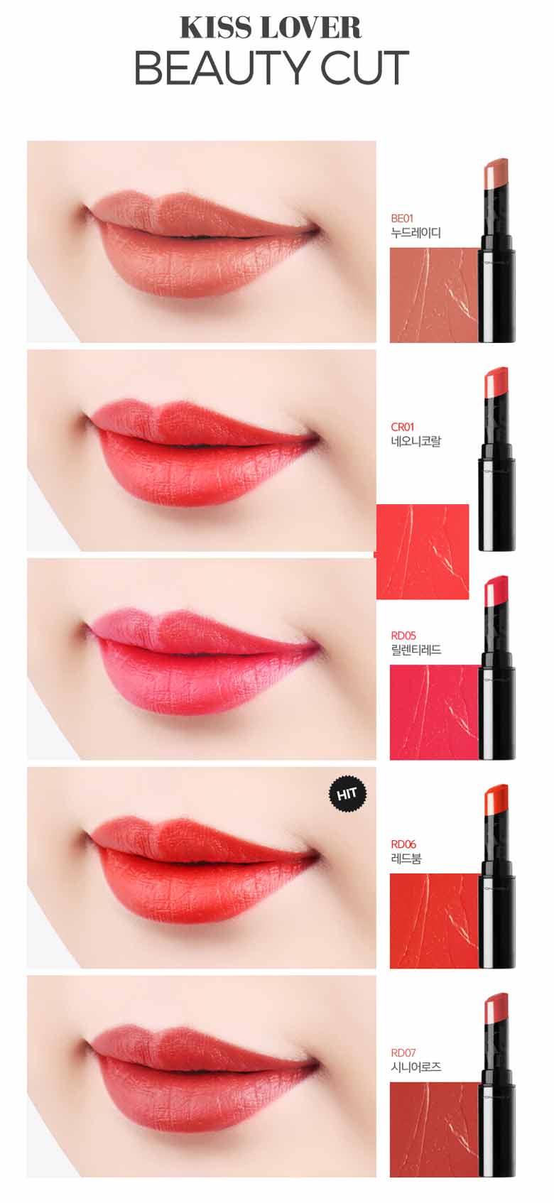 Beauty Box Korea - TONYMOLY Kiss Lover Style Lipstick_M S/S 3.4g   Best Price and Fast Shipping from Beauty Box Korea