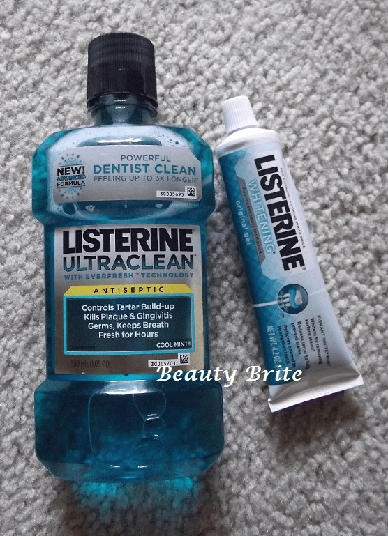 Listerine Original Gel and Mouthwash