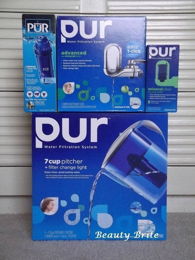 PUR Water Faucet and Pitcher Filter