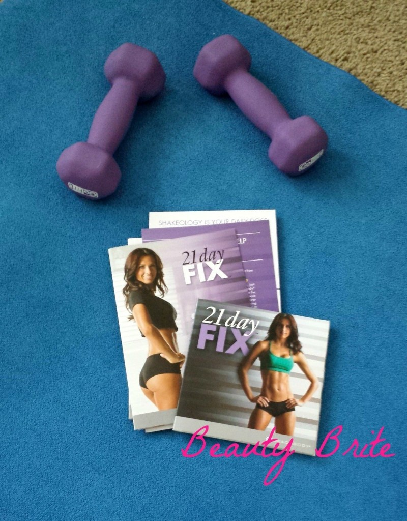 First week of 21 Day Fix