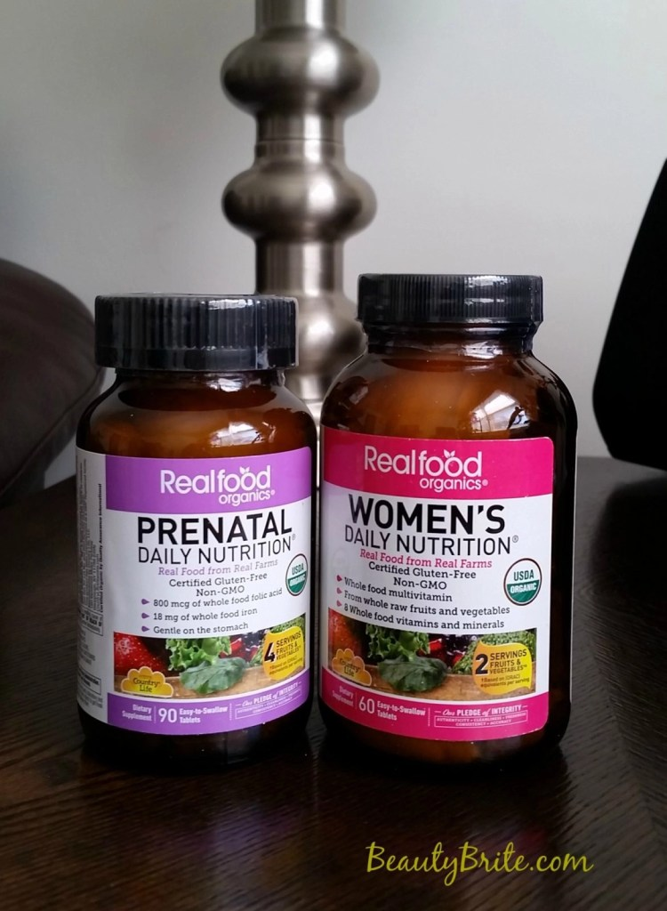Supplement your healthy lifestyle with organic vitamins