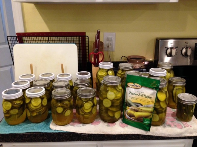 Family Pickle Canning -- Sharing is Caring