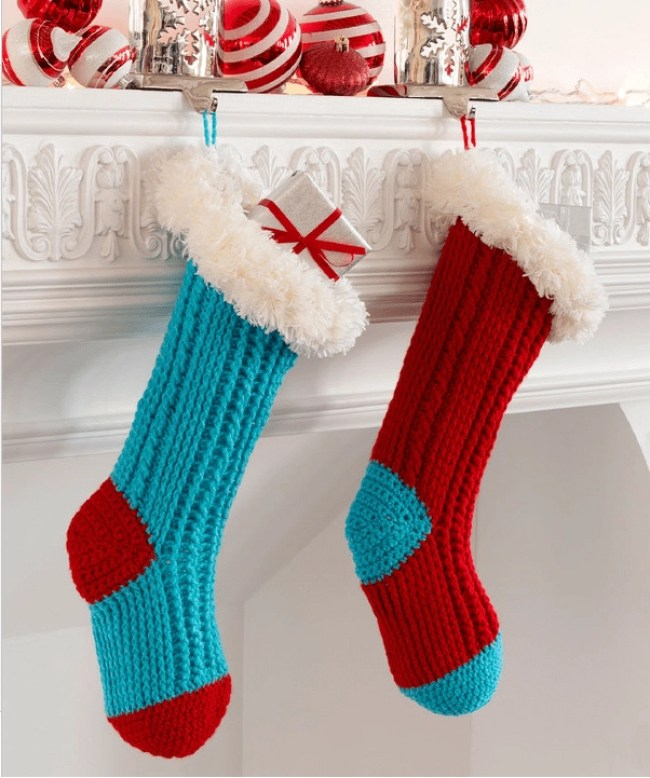 DIY Christmas Stockings For My Kids This Year